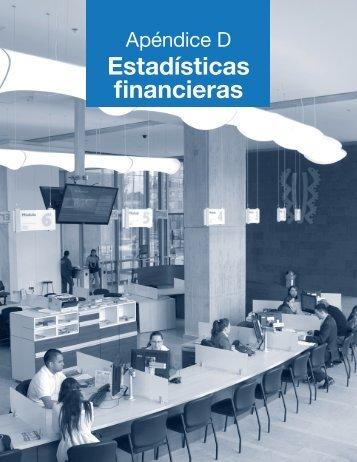 Apéndice D. Estadísticas Financieras - Universidad El Bosque