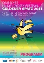 Programmheft 2011_Programmheft 2011 - Goldener Spatz