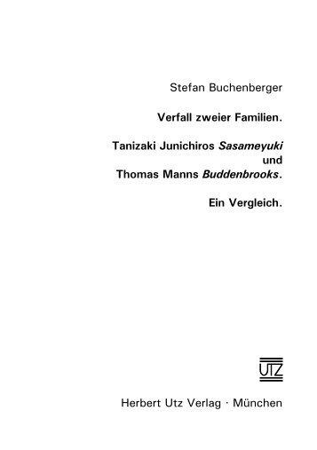 und Einleitung (98 KB) - Herbert Utz Verlag GmbH