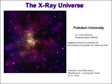 History of X-ray astronomy