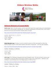Kildare Wicklow Walks - Discover Ireland