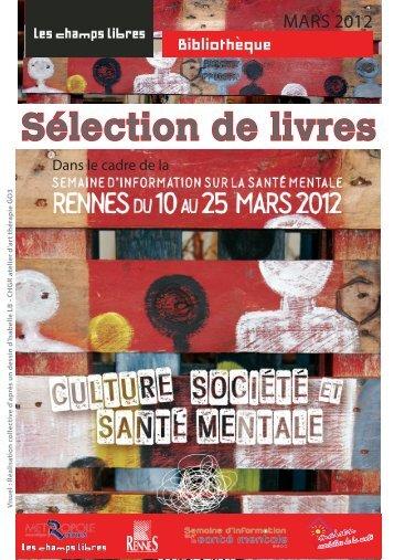 Télécharger la bibliographie 2012 - Bibliothèque de Rennes ...