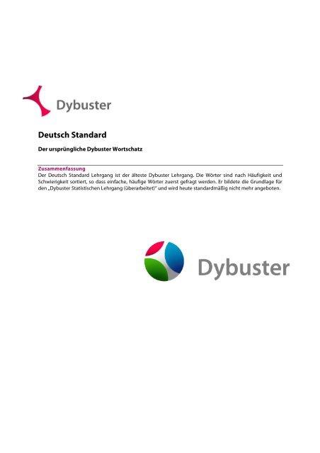 Deutsch Standard Dybuster
