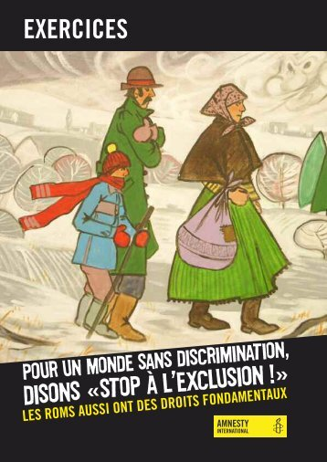 dossier d'exercices - amnesty.be