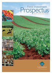 Food Investment Prospectus - South Gippsland Shire Council