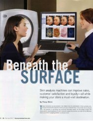 2012 VISIA Complexion Analysis System featured in Beauty Store ...