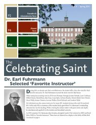 Alumni Newsletter Spring 2011 (PDF) - Saint Paul Lutheran High ...
