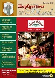 Hopfgartner Blattl - Gemeinde Hopfgarten - Land Tirol