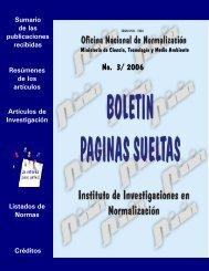 No. 3/ 2006 - Boletín Páginas Sueltas