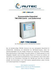 XMP-TMC3500 - AUTEC Gesellschaft für Automationstechnik mbH