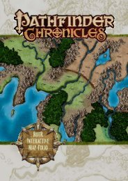 Rise of the Runelords Interactive Map Folio