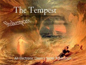 The Tempest - 501 KB - Penn State University