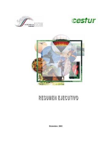 Estudio del Ecoturismo México - Centro de Estudios Superiores en ...