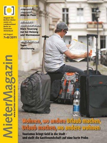 MieterMagazin - Berliner Mieterverein e.V.