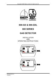 600-GD & 600-GDL 600 SERIES GAS DETECTOR