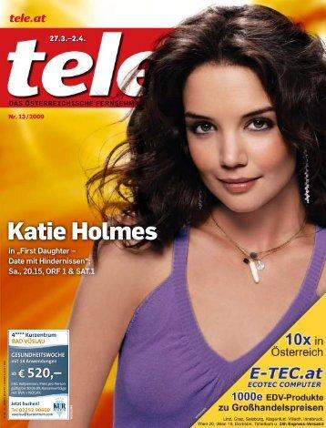 Katie Holmes - Tele.at