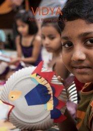 VIDYA Mumbai Annual Newsletter 2012-2013