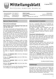 MB Nr. 17 - 06.09.2012 [PDF, 530 KB - Gemeinde Hemberg