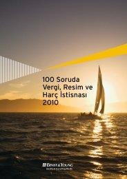 100 Soruda Vergi, Resim ve Harç ‹stisnas› 2010