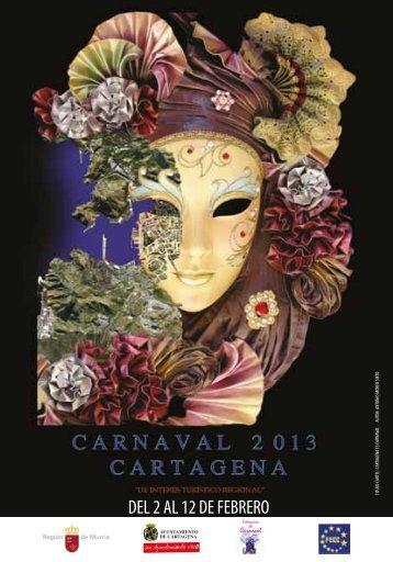 Programación del Carnaval de Cartagena 2013 - Ayuntamiento de ...