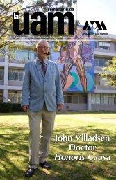 John Villadsen Doctor Honoris Causa - UAM. Comunicación Social