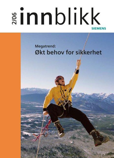 Økt behov for sikkerhet 2/06 - Siesenior.net