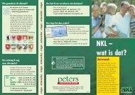 NKL – wat is dat? - peters-gms