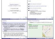 Kognitive Systeme 1 Inhalt Zustände Beispiel: Routenplanung