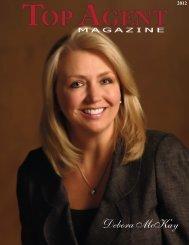 Debora McKay - Top Agent Magazine
