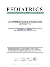Food Protein-Induced Enterocolitis Syndrome Caused by Solid Food ...