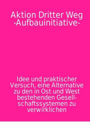 Aktion Dritter Weg -Aufbauinitiative-