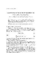 a(i)ei=A(n) →0 - Institute of Statistical Science, Academia Sinica