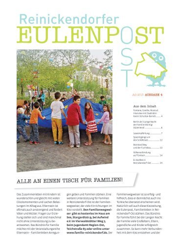 Eulenpost, Ausgabe 4, Juli 2013 - Grundschule am Schäfersee