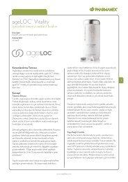 ageLOC® Vitality - Nu Skin