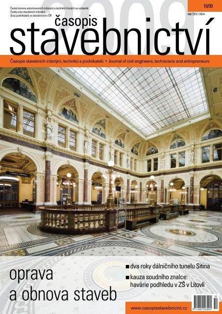 oprava a obnova staveb - Časopis stavebnictví
