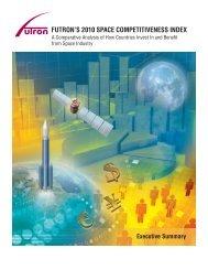 futron's 2010 space competitiveness index - Futron Corporation