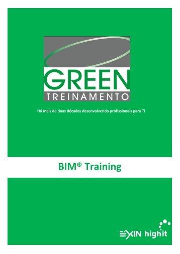 BIM® Training - Green Treinamento
