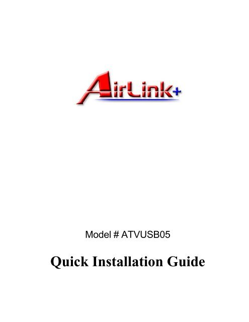 AIRLINK101 ATVUSB05 DRIVERS FOR MAC