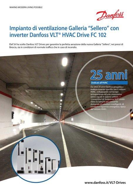 Impianto di ventilazione con Soft Starters MCD 500 - Watergas