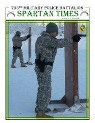 Spartan Times Vol 3 - The USARAK Home Page - U.S. Army