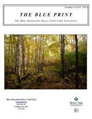 Summer:Fall 2013 Colour - Blue Mountains Bruce Trail Club