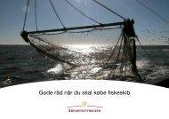 Gode råd når du skal købe fiskeskib - Søfartsstyrelsen
