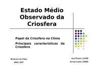 Características da criosfera - Torre:Tempo e Clima