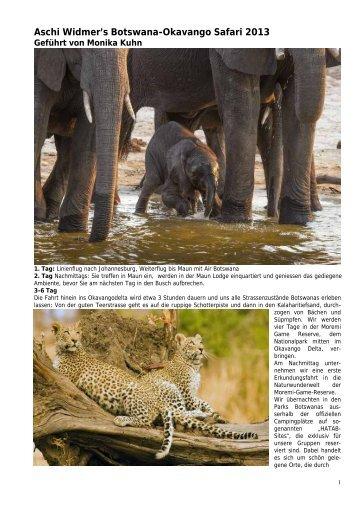 Botswana Special - Aschi Widmer