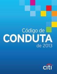 Código de Conduta - Citigroup