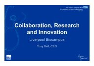 Collaboration, Research and Innovation