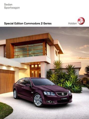 Special Edition Commodore Z-Series Sedan Sportwagon - Holden