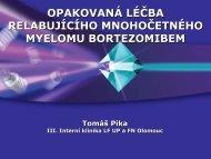 (BORTEZOMIBEM) T. Pika - CMG
