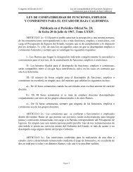 LEY DE COMPATIBILIDAD DE FUNCIONES, EMPLEOS Y ... - Tijuana