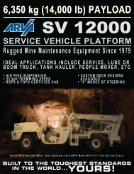 download product brochure - Arva Industries Inc.